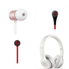 53 Pcs - Beats Headphones - Headphones & Portable Speakers - In Ear Headphones - Refurbished (BRAND NEW)