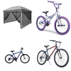 Pallet - 8 Pcs - Cycling & Bicycles - Customer Returns - Movelo, Ozark Trail, Hyper Bicycles, Huffy Bicycle Company