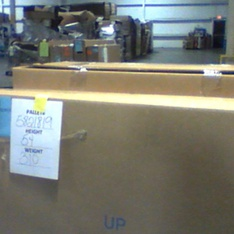 Truckload - 20 Pallets - 268 Pcs - TVs - Tested NOT WORKING (Cracked Display) - VIZIO, Samsung, LG, TCL
