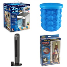 3 Pallets - 319 Pcs - Humidifiers / De-Humidifiers, Camping & Hiking, Boats & Water Sports, Hardware - Customer Returns - As Seen On TV, Brink's, Mainstay's, Coleman