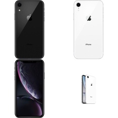 15 Pcs - Apple iPhone XR - Refurbished (GRADE B - Unlocked) - Models: MRYY2LL/A, MRYR2LL/A, MT012LL/A, MT3K2LL/A