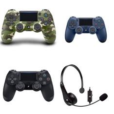 3 Pallets - 123 Pcs - Video Games - Sony, Audio Headsets - Customer Returns - Sony, Onn, PDP, Plantronics