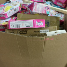 Pallet - 445 Pcs - Arts & Crafts, Office Supplies, Unsorted - Customer Returns - Blumenthal Lansing, Sticko, Maya Import, Moose Toys
