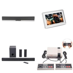 Pallet – 84 Pcs – Speakers, Other, DVD & Blu-ray Players, Digital Picture Frames – Customer Returns – onn., Polaroid, Mia, Onn