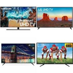 4 Pcs - LED/LCD TVs (46