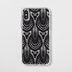 29 Pcs - Heyday Apple iPhone X/XS Case, Black Lace - New, Open Box Like New, Like New, Used, New Damaged Box - Retail Ready