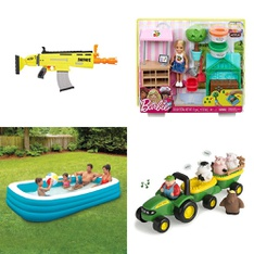Pallet - 80 Pcs - Boardgames, Puzzles & Building Blocks, Outdoor Sports, Dolls, Action Figures - Customer Returns - Hasbro, Nerf, Play Day, Tomy