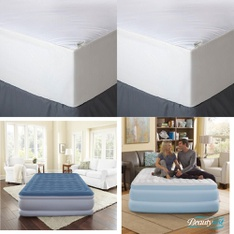 Pallet – 43 Pcs – Covers, Mattress Pads & Toppers, Comforters & Duvets – Customer Returns – Mainstay's, Aller-Ease, Beautyrest, Mainstays