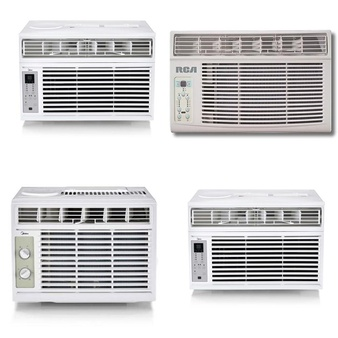 Pallet – 8 Pcs – Air Conditioners – Customer Returns – Midea, Primo, RCA