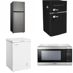 Pallet - 6 Pcs - Refrigerators - Customer Returns - HISENSE, WHIRLPOOL, Frigidaire, Panasonic