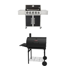 Pallet - 2 Pcs - Grills & Outdoor Cooking - Customer Returns - Char-Griller, Nash & Company