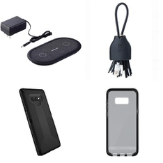 250 Pcs - Cellular Phones Accessories - Used, Like New, Open Box Like New, New Damaged Box - OtterBox, Heyday, Tech21, Belkin