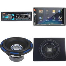 Pallet – 26 Pcs – Car Stereos, Amps & Speakers – Customer Returns – Dual Electronics, Dual, Power Acoustik, Pioneer
