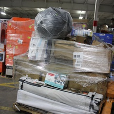 Pallet - 101 Pcs - Unsorted, DVD Discs, Blu-ray Discs - Customer Returns - WARNER HOME VIDEO, Universal Pictures Home Entertainment, Sterilite, Clorox Pool