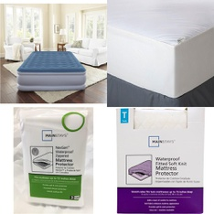 Pallet - 49 Pcs - Covers, Mattress Pads & Toppers, Comforters & Duvets - Customer Returns - Mainstay's, Mainstays, Aller-Ease, Beautyrest