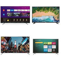 7 Pcs - LED/LCD TVs - Refurbished (GRADE A) - RCA, TCL, Samsung, Philips