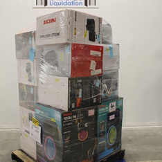 Pallet - 15 Pcs - Speakers - Customer Returns - Ion, Monster