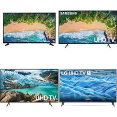 4 Pcs - LED/LCD TVs (58