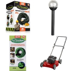 Truckload - 26 Pallets - 512 Pcs - Accessories, Mowers, Other, Patio & Outdoor Lighting / Decor - Customer Returns - Select Surfaces, Hyper Tough, Mainstays, Flex