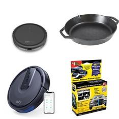 Pallet – 52 Pcs – Vacuums, Kitchen & Dining, Bedding Sets – Customer Returns – Tzumi, Eufy, Lodge, Corelle