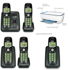 Pallet - 123 Pcs - Cordless / Corded Phones, Unsorted, Other, All-In-One - Customer Returns - VTECH, HP, Ubisoft, Onn