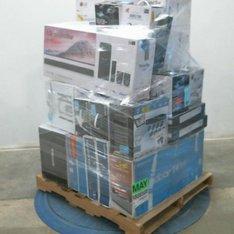 Pallet - 35 Pcs - Home Audio & Theater - Customer Returns - BOSE, Protocol, Samsung, LG