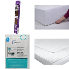 3 Pallets – 75 Pcs – Covers, Mattress Pads & Toppers, Pillows, Bedding Sets, Floor Care – Customer Returns – Mainstay's, Mainstays, Select Surfaces, Beautyrest