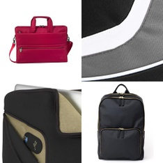 21 Pcs - Backpacks, Bags, Wallets & Accessories - New, Like New - Retail Ready - RIVACASE, Motile, Case Logic, SumacLife