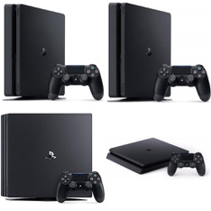 34 Pcs - Sony Playstation 4 Consoles - Refurbished (GRADE A) - Models: CUH-2215A, CUH-7215B, CUH-2115A, 3002189