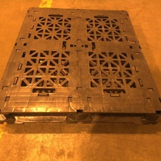 26 Pallets - 272 Pcs - 48 x 40 Plastic Pallets - Used.