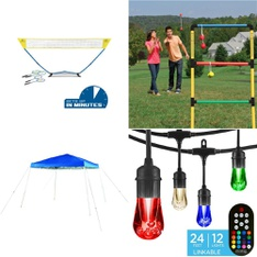 Truckload - 26 Pallets - 485 Pcs - Outdoor Play, Patio & Outdoor Lighting / Decor, Outdoor Sports, Accessories - Customer Returns - EastPoint Sports, Ozark Trail, Go! Gater, Dynatrap