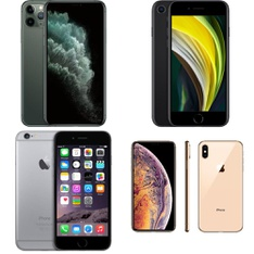 CLEARANCE! 13 Pcs – Apple iPhones – Refurbished (GRADE D – Unlocked) – Models: MX9N2LL/A, 3F909LL/A, 3A021LL/A, 3D897LL/A