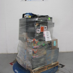 12 Pallets - 957 Pcs - In Ear Headphones, Power Tools, Power, Accessories - Customer Returns - Blackweb, Onn, Hyper Tough, Mainstay's