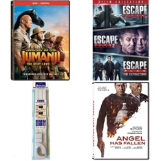 Pallet – 217 Pcs – DVD Discs, Accessories, Blu-ray Discs, Receivers, CD Players, Turntables – Customer Returns – Sony Pictures Home Entertainment, Wire Trak, Lionsgate Home Entertainment, Lionsgate