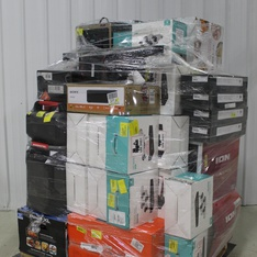 Pallet – 35 Pcs – Security & Surveillance, Speakers, Portable Speakers – Tested NOT WORKING – Heimvision, Ion, Monster, onn.