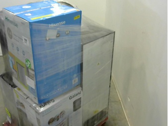 Pallet – 7 Pcs – Bar Refrigerators & Water Coolers – Customer Returns – Galanz, Thomson