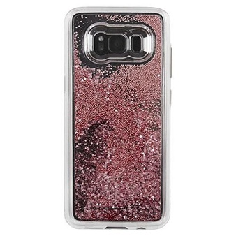 38 Pcs – Case-Mate Samsung Galaxy S8 Plus Waterfall Series Case – Rose Gold – Used, New, Open Box Like New, New Damaged Box, Like New – Retail Ready