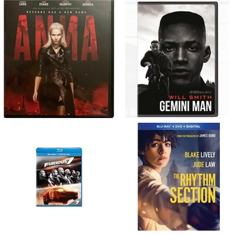 150 Pcs – Movies & TV Media – New – Retail Ready – Paramount, Lionsgate, Universal Studios Home Entertainment, Sony Pictures Home Ent.