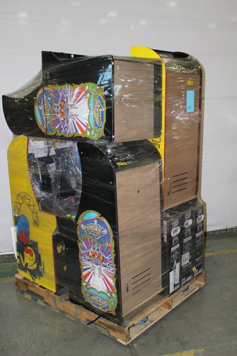 Pallet – 8 Pcs – Video Games – Other – Customer Returns – Red Planet