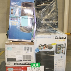 Pallet - 15 Pcs - Air Conditioners, Accessories - Customer Returns - Filtrete, Lasko, GE