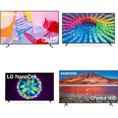 12 Pcs – LED/LCD TVs – Refurbished (GRADE A) – Samsung, VIZIO, TCL, LG