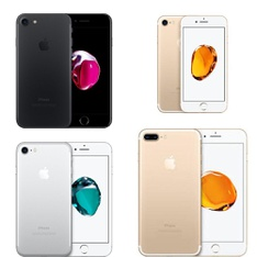8 Pcs - Apple iPhone 7 - Refurbished (GRADE A - Unlocked) - Models: MN8G2LL/A, MN8N2LL/A - TF, MN8M2LL/A, MN8N2LL/A