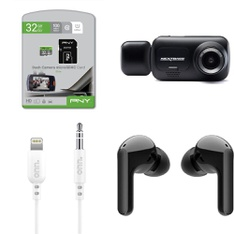 Pallet - 402 Pcs - Cables & Adapters, Microsoft, Back up & Dashboard Cameras, Sony - Customer Returns - onn., PNY, Microsoft, Merkury Innovations