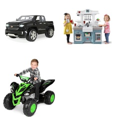 Pallet – 4 Pcs – Vehicles – Customer Returns – YAMAHA, Step2, RollPlay, Simplay3