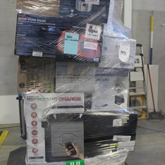 Half Truckload - 13 Pallets - 474 Pcs - Accessories, Portable Speakers, Other, Speakers - Customer Returns - Monster, Blackweb, Onn, LG