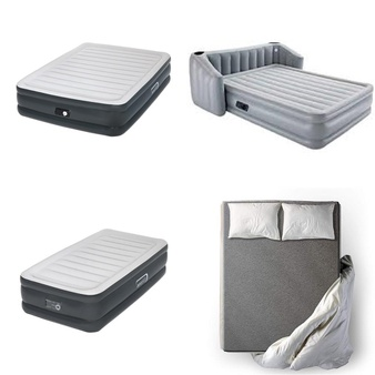 Pallet – 22 Pcs – Camping & Hiking, Covers, Mattress Pads & Toppers – Customer Returns – Aerobed, Bestway