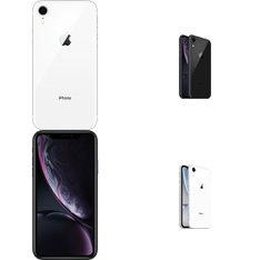 100 Pcs - Apple iPhone XR 64GB - Unlocked - Certified Refurbished GRADE A