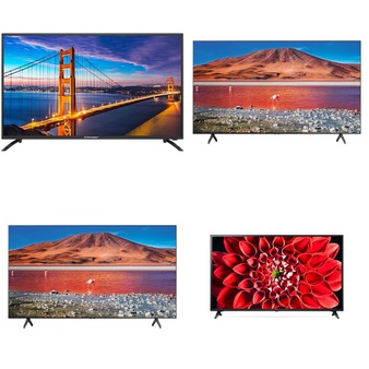 9 Pcs – LED/LCD TVs – Refurbished (GRADE A) – PRIMECABLES, Samsung, LG, HISENSE