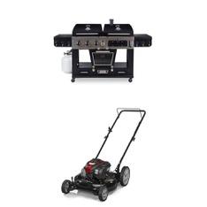 Pallet – 5 Pcs – Lawn Mowers – Customer Returns – Pit Boss, Murray