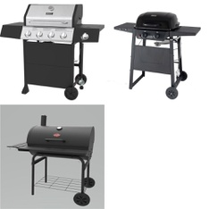 Pallet – 4 Pcs – Grills & Outdoor Cooking – Customer Returns – Backyard Grill, Char-Griller